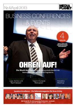 Business Conferences and Events 6